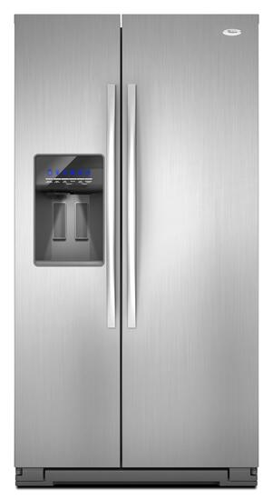 Whirlpool Wsf26c2exf Side By Side Refrigerator With 24 6