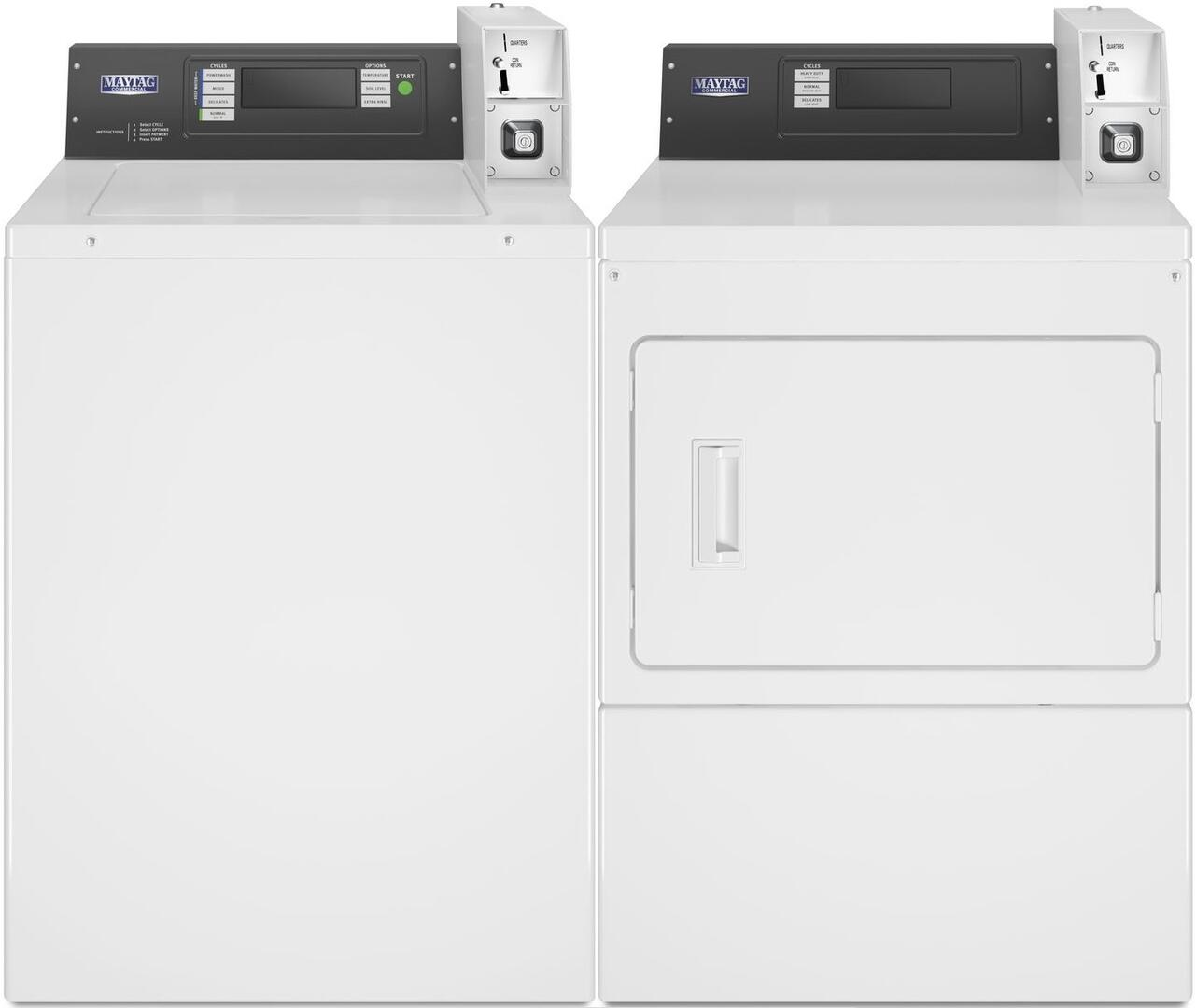 Maytag Commercial 850582 Washer And Dryer Combos