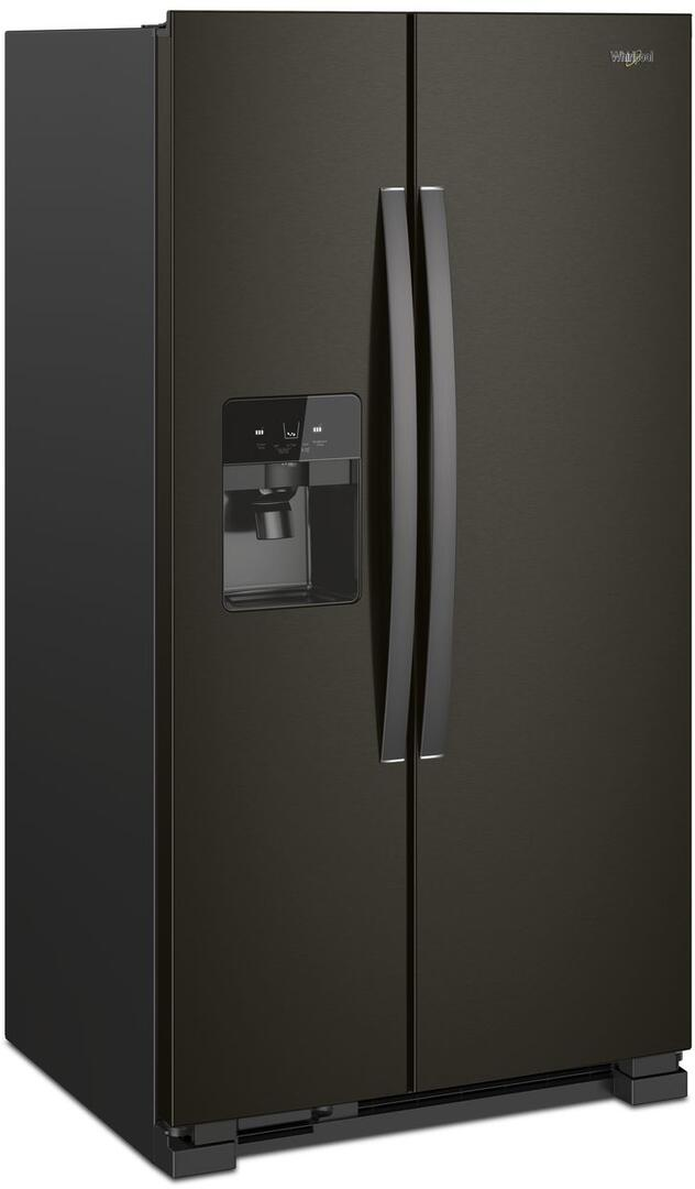 Whirlpool Wrs325sdhv 36 Inch Black Stainless Steel Side By