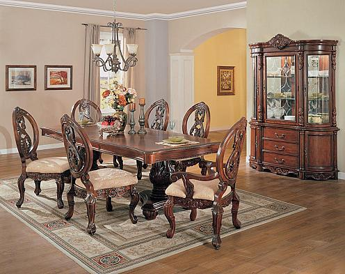 Acme furniture 09953 versailles series traditional dining for Dining room furniture 0 finance