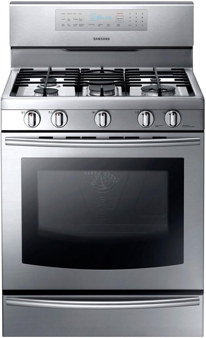 Samsung Nx58f5700ws Kitchen Range Stainless Steel Gas