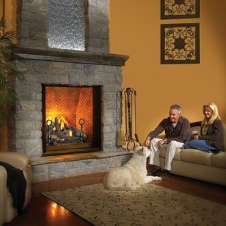 Napoleon Bgd90nt Direct Vent Natural Gas Fireplace Appliances Connection