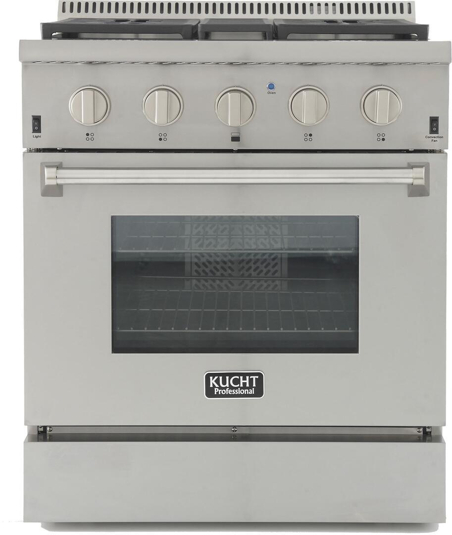 Kucht krg3080u 30 inch professional series gas for Best slide in gas range under 2000