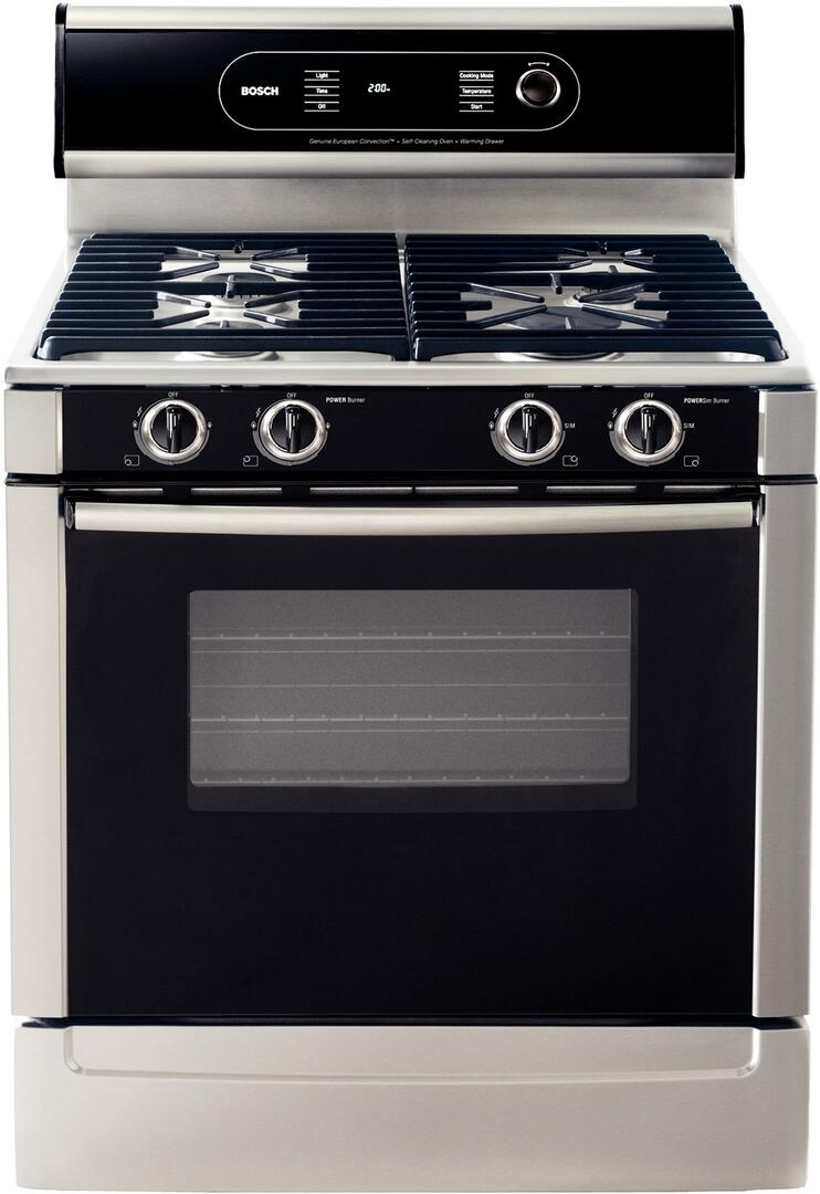Viking Gas Cooktop >> Bosch HGS7052UC 30 Inch 700 Series Gas Freestanding Range ...