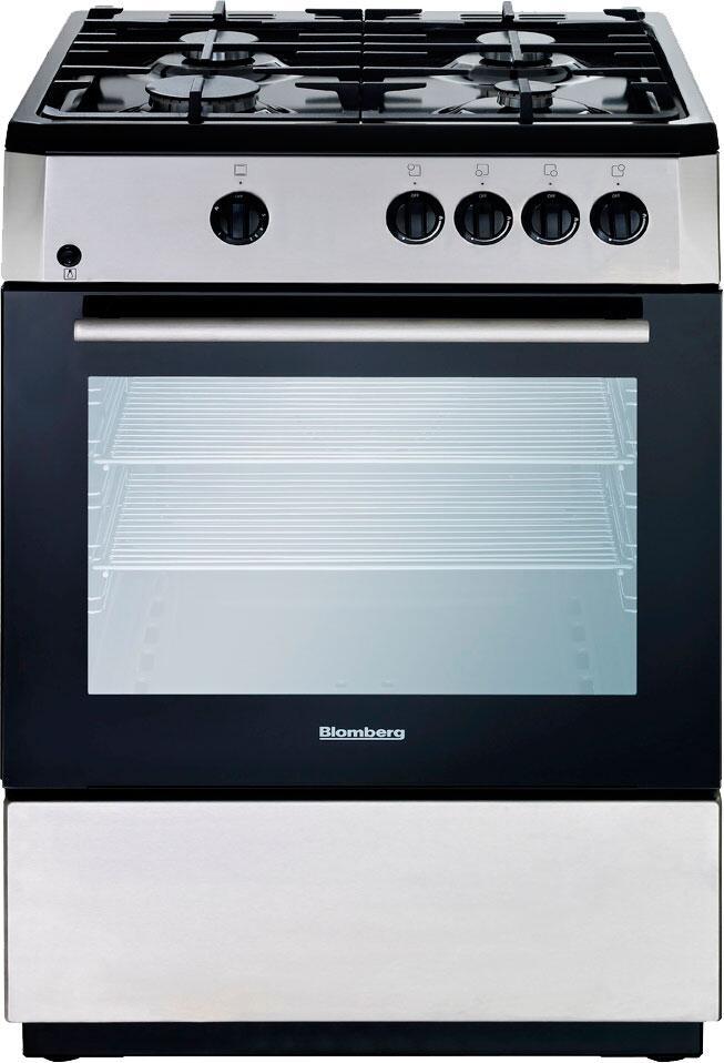 Blomberg bgr24100ss 24 inch gas freestanding range with for Best slide in gas range under 2000