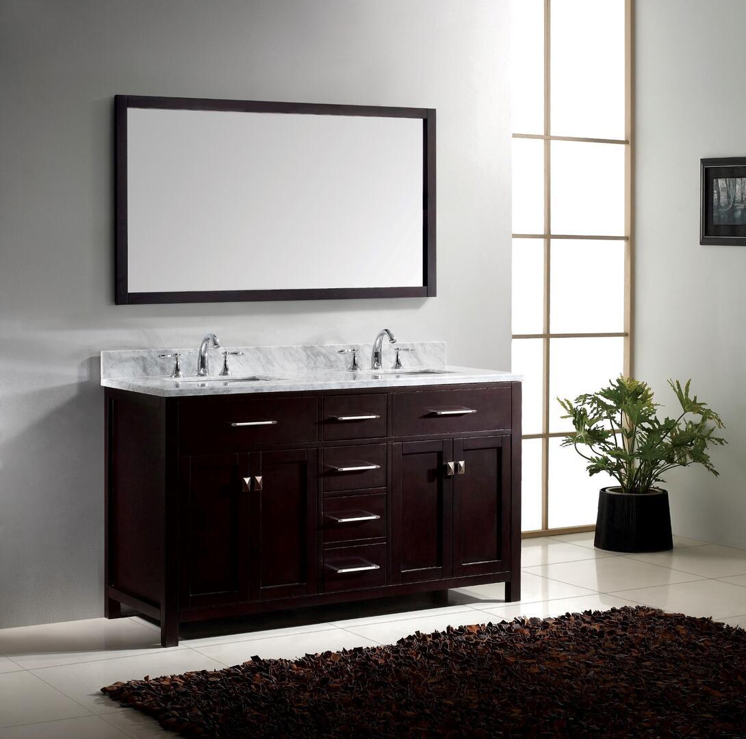 Virtu Usa Md2060wmsqes001 Espresso Double Sink Appliances Connection