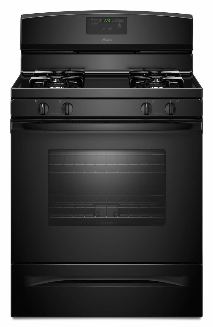 Amana Draft Down Cooktops ~ Amana agr bdb inch gas freestanding range with