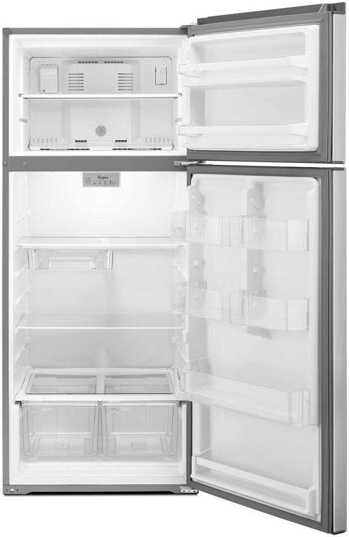 Whirlpool WRT518SZFW 28 Inch Refrigerator with 17.64 cu. ft ...