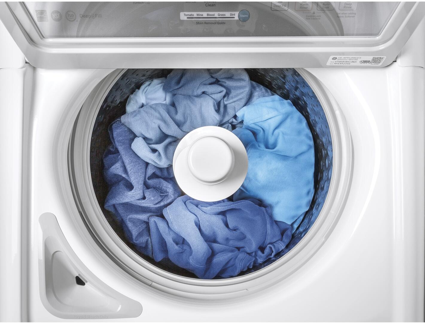 GE GTW685BSLWS 27 Inch 4.5 cu. ft. Top Load Washer, in White ... on ge washer repair guide, ge washer oil leak, ge spacemaker microwave parts diagram, ge washer hose, ge profile dishwasher diagram, ge washer fuse, ge washer tools, ge top load washer diagram, ge washer agitator repair, ge washer motor, ge front load washer diagram, ge washer model whse5240d1ww, ge washer manual, ge schematic diagrams, ge washer timer, ge washer parts, ge washer drive shaft, washing machine schematic diagram, ge washer model numbers, ge washer disassembly,