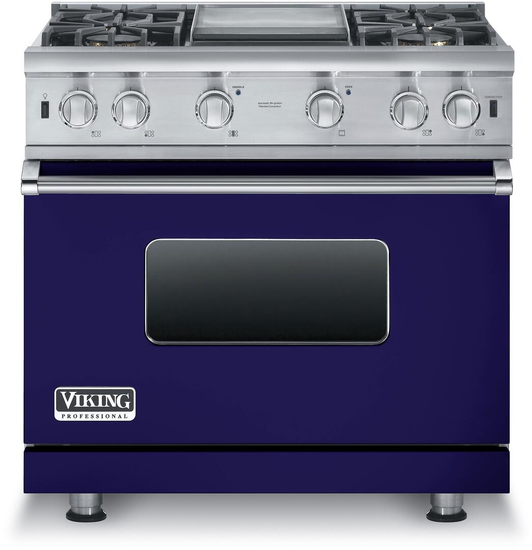 Viking VGCC5364GSS 36 Inch 5 Series Gas Freestanding Range with ...