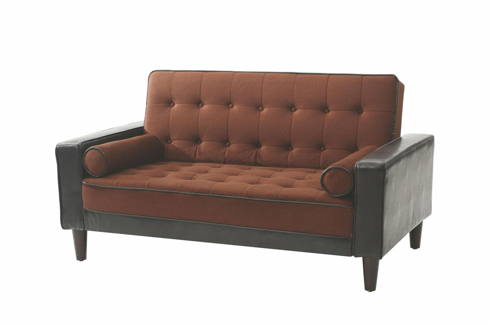 Glory furniture g846l g800 series faux leather convertible for Furniture 5 years no interest
