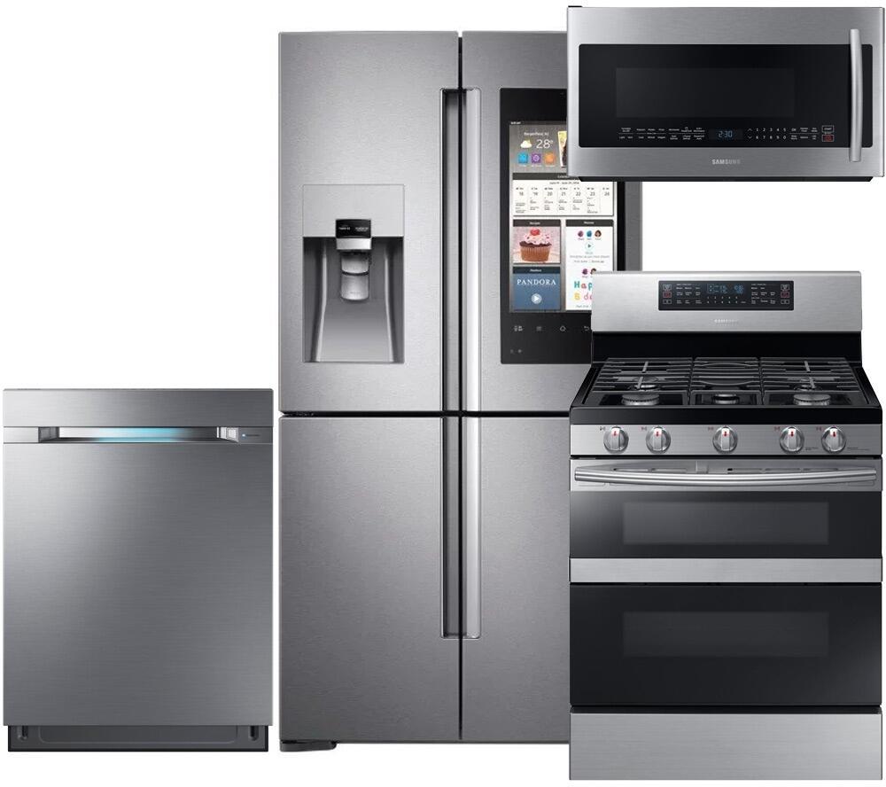 Samsung Kitchen Appliance Package: Samsung 754616 Kitchen Appliance Packages