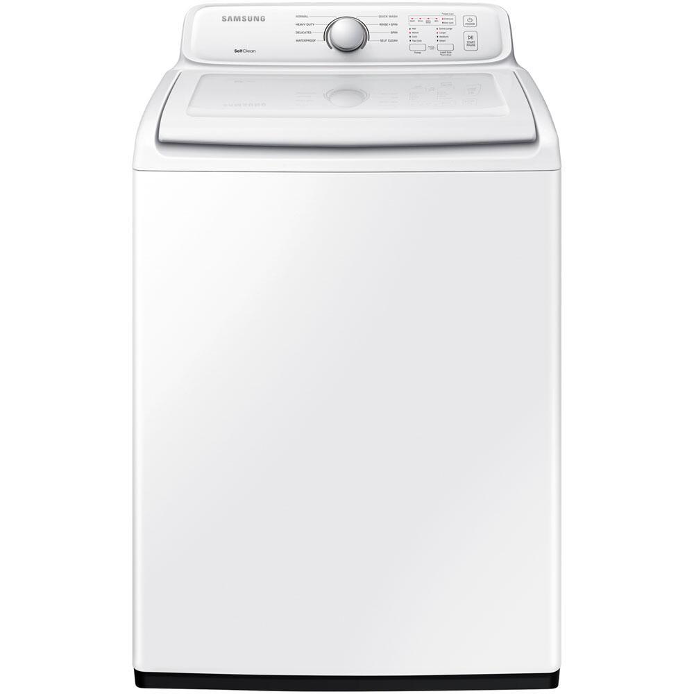 Samsung Wa40j3000aw 27 Inch White 4 0 Cu Ft Top Load