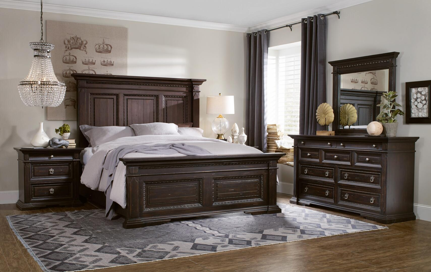 Hooker Furniture 537490266kspb2ndm Treviso King Bedroom Sets