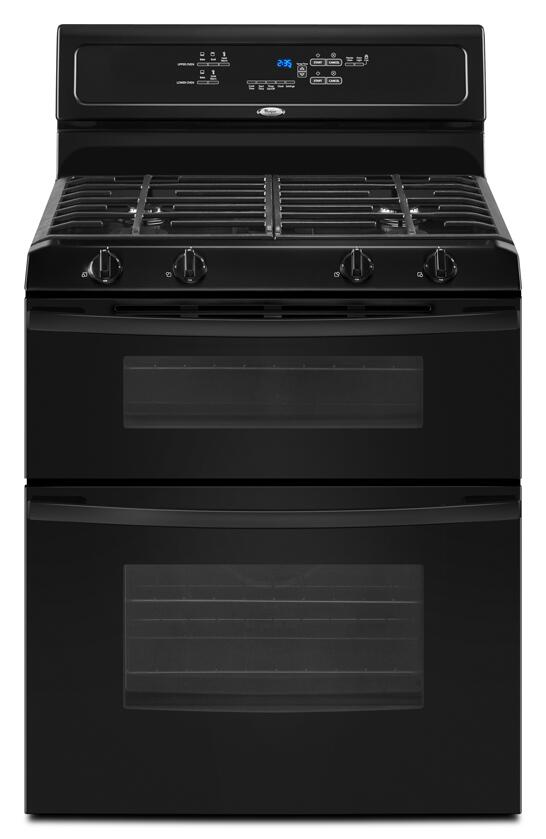 Whirlpool Ggg388lxb Gold Series Black Gas Freestanding