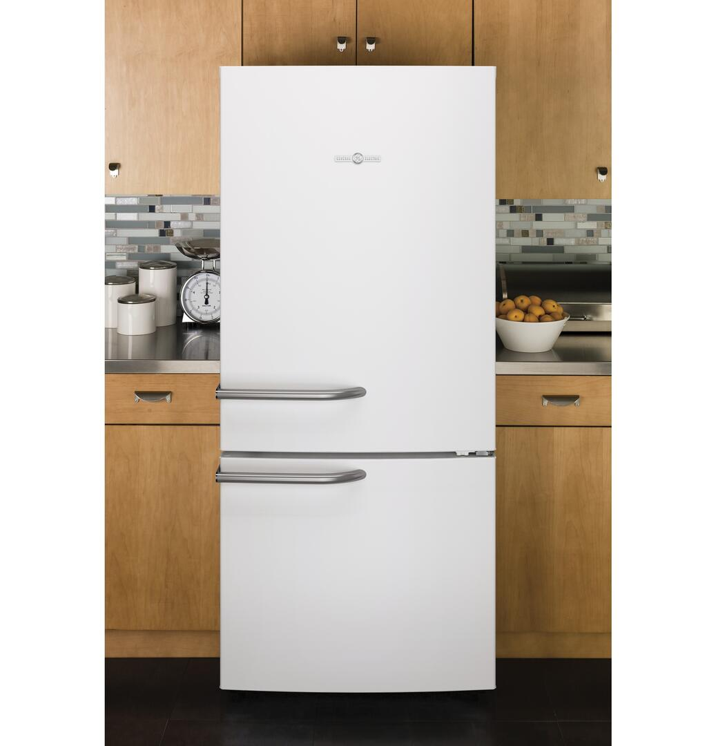 Ge Abe21dgkws 30 Inch Artistry Series Bottom Freezer