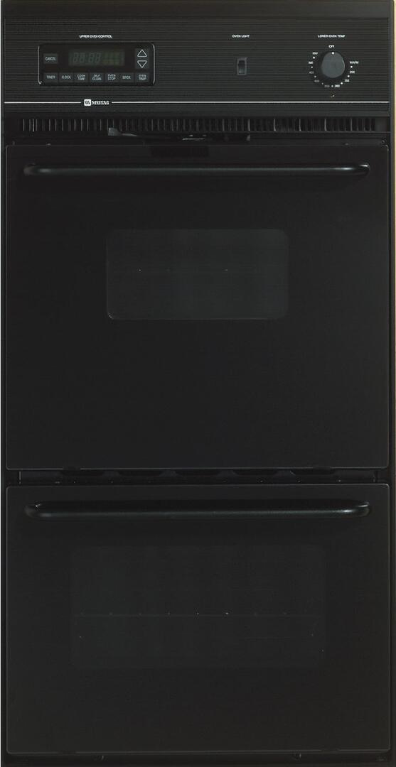 Maytag Cwe5800acb 24 Inch Double Wall Oven In Black