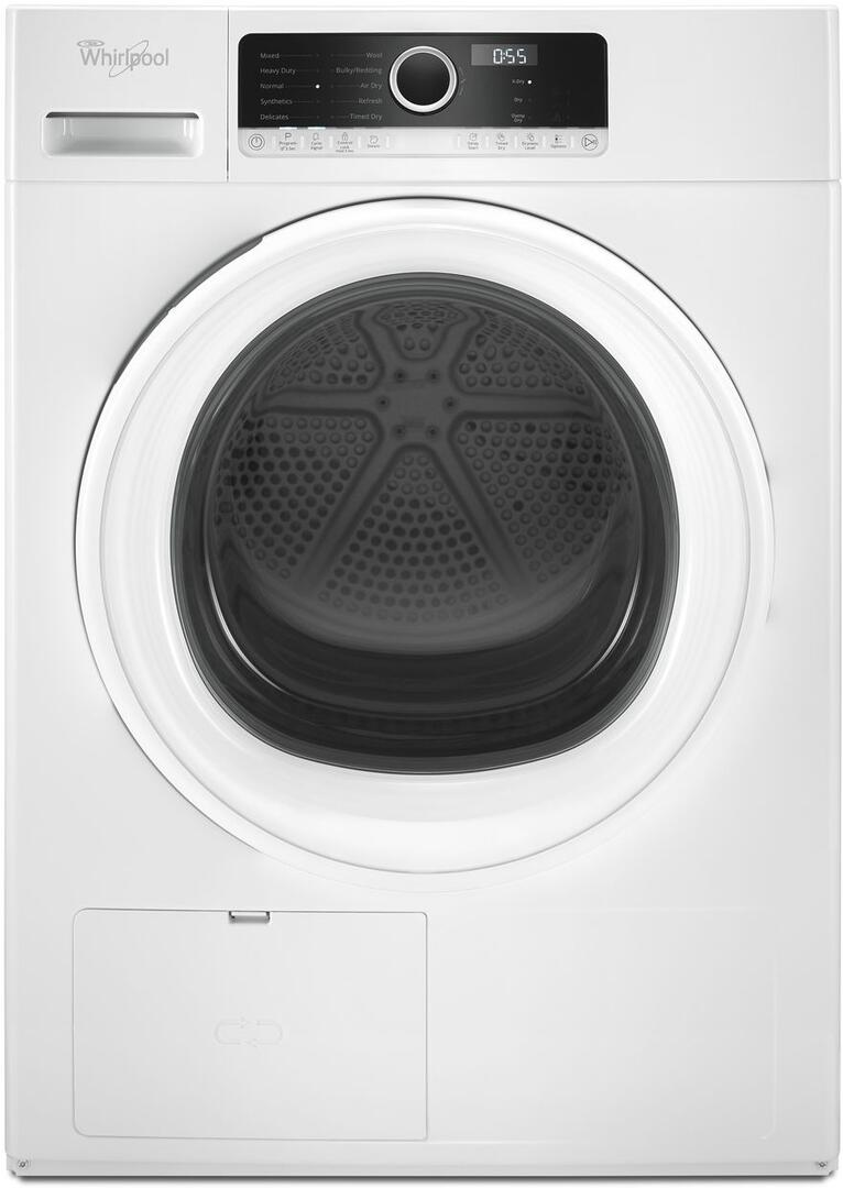 Whirlpool WHD3090GW 24 Inch Electric Dryer with 4 3 cu  ft