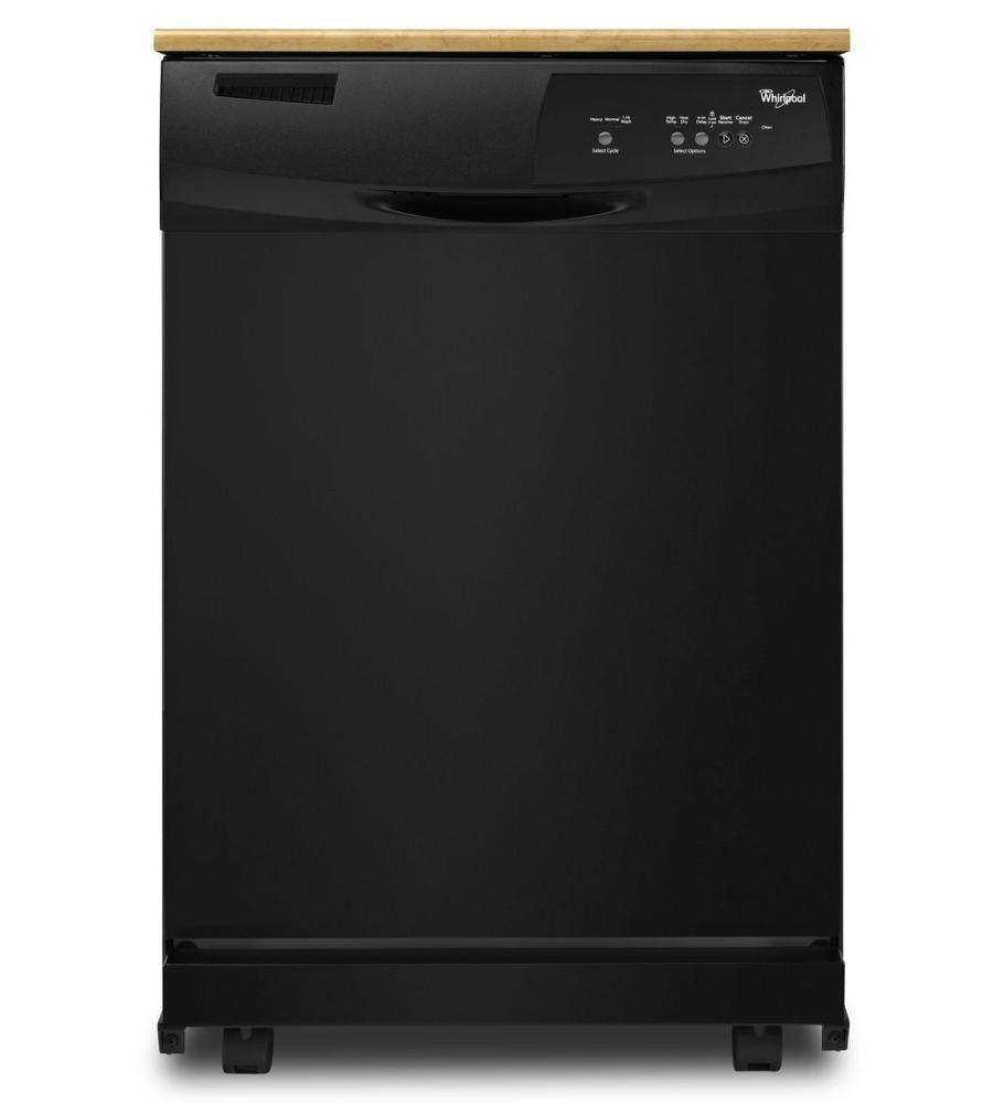 Whirlpool wdp350paab 24 inch portable full console - Whirlpool discount ...