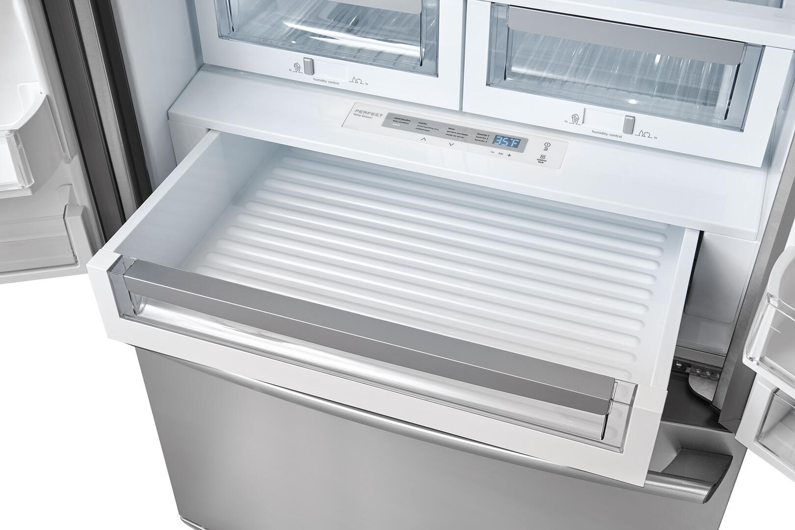 electrolux perfect temp drawer