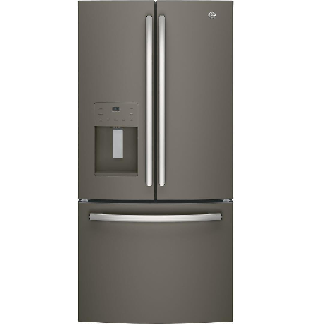 Ge Gfe24jgkww 33 Inch French Door Refrigerator With 23 8