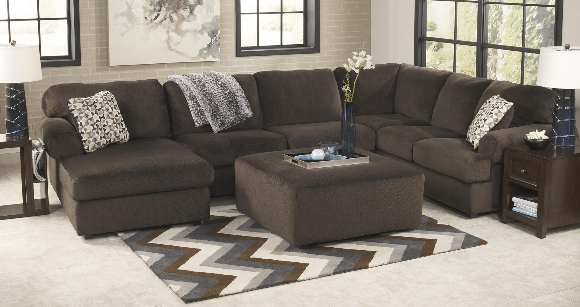 ... Signature Design by Ashley Jessa Place Sectional Sofa with Optional Ottoman and Accessories ... : jessa sectional - Sectionals, Sofas & Couches