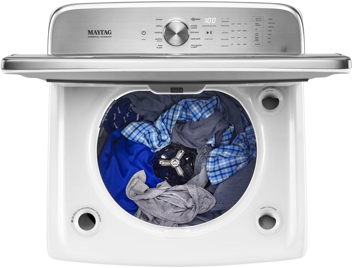 Maytag Mvwb955fw 30 Inch 6 2 Cu Ft Top Load Washer In