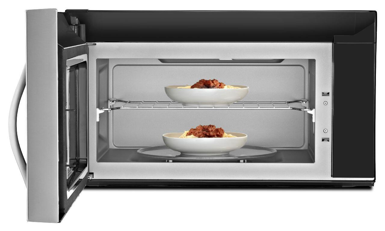 Whirlpool Wmh73521cs 2 1 Cu Ft Over The Range Microwave