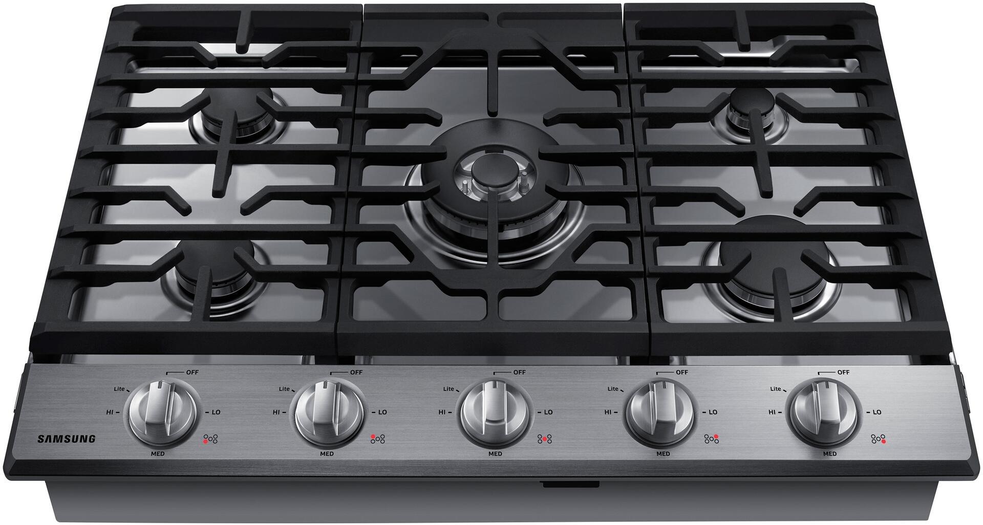 Samsung na30k6550ts 30 inch gas sealed burner style for Viking wok burner