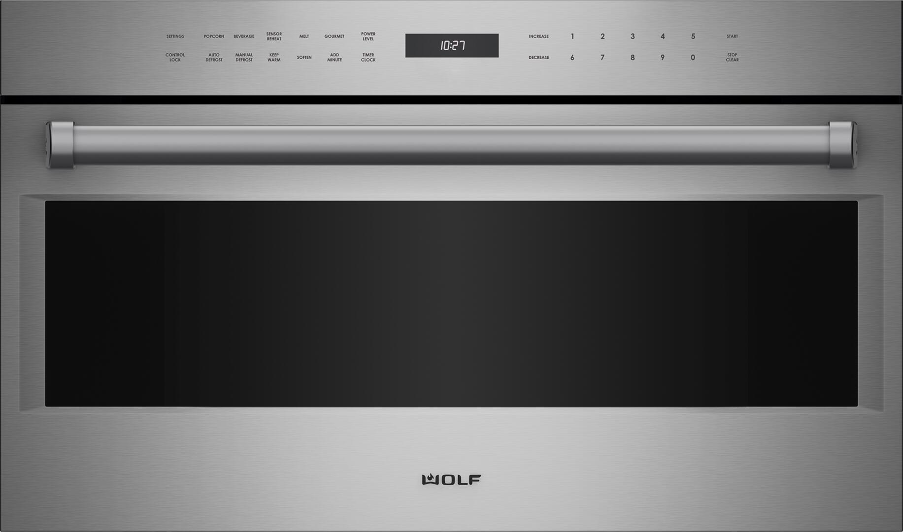 wolf mdd30pesph 30 inch stainless steel built in microwave oven rh appliancesconnection com Wolf L Series Trim Wolf Appliances