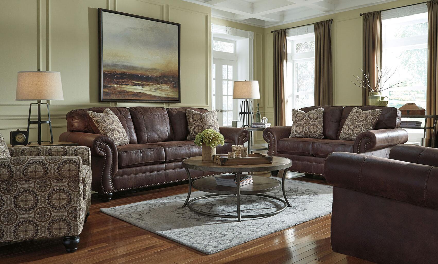 Benchcraft 8000338set4pc breville living room sets for Living room of satoshi tax