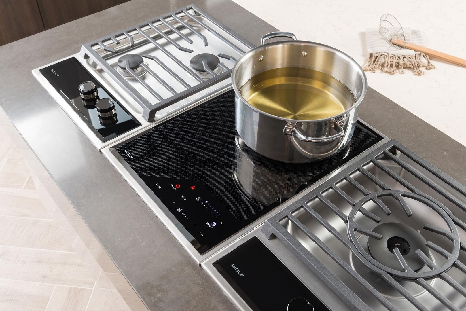 wolf ce152tfs 15 inch stainless steel 2 element electric cooktop appliances connection. Black Bedroom Furniture Sets. Home Design Ideas