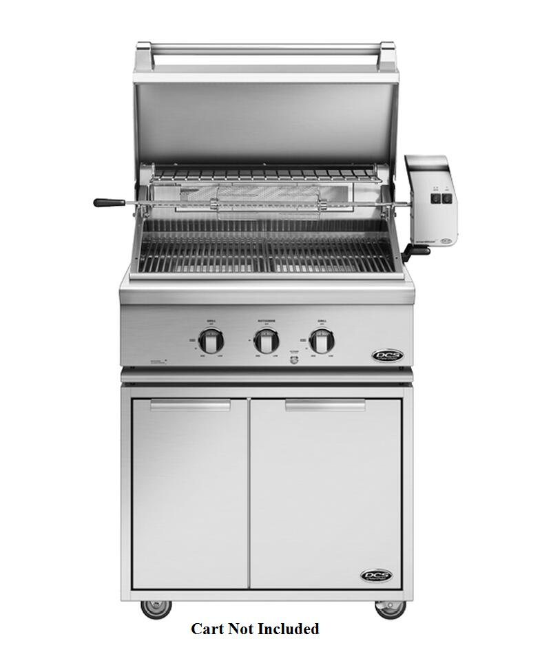Dcs Bgc30 Bq 30 Quot Built In Or On Cart Gas Grill With 2