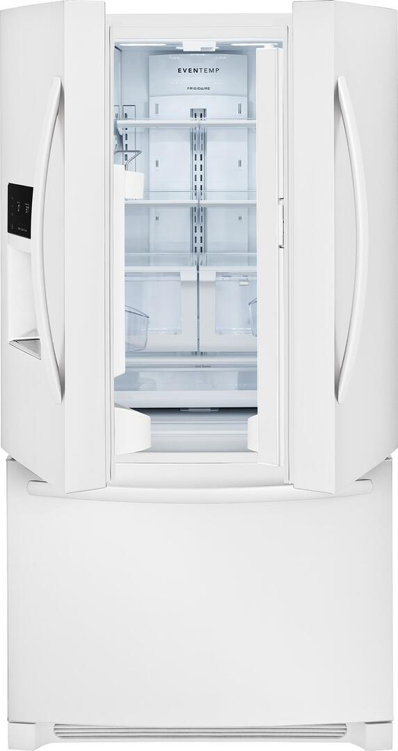 Frigidaire FFHB2750TP 36 Inch Pearl White French Door Refrigerator ...