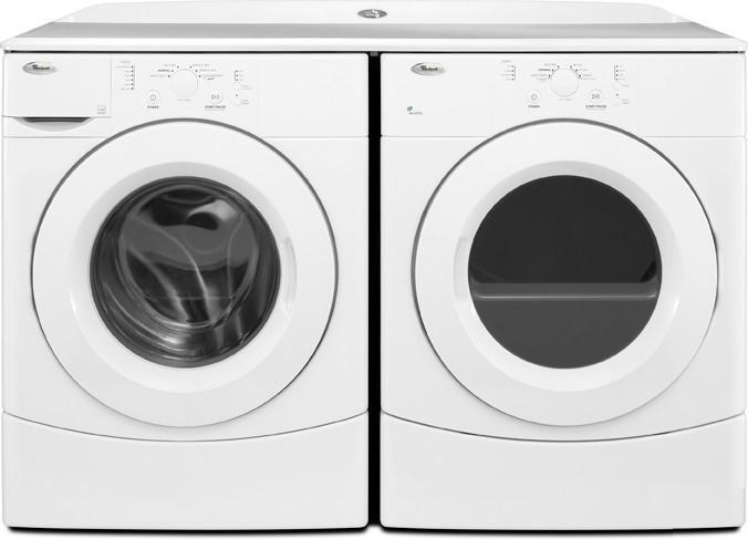 Whirlpool Wfw9050xw 3 5 Cu Ft Front Load Washer In