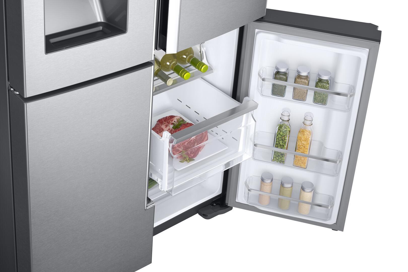 Samsung RF28K9380SR 36 Inch 4 Door French Door Refrigerator with ...