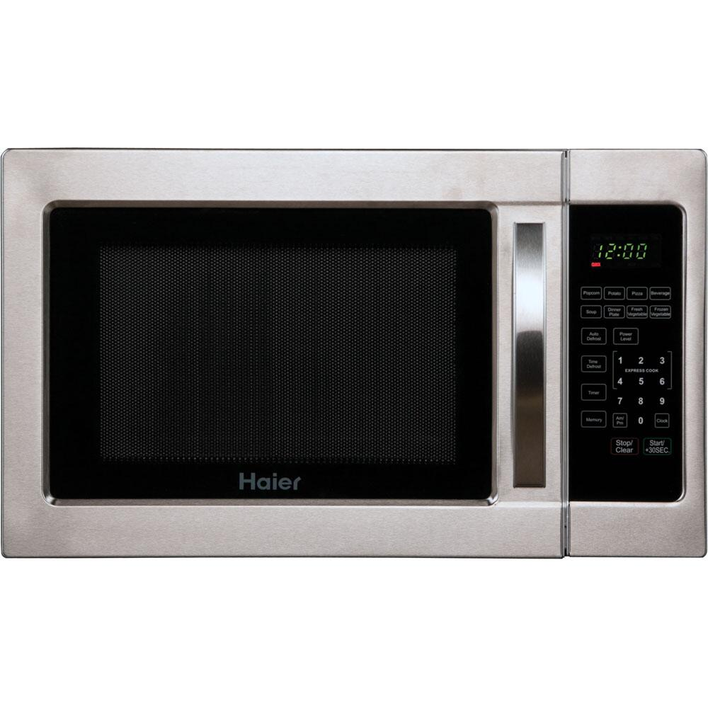 Haier Hmc1035sess Countertop Microwave In Stainless Steel