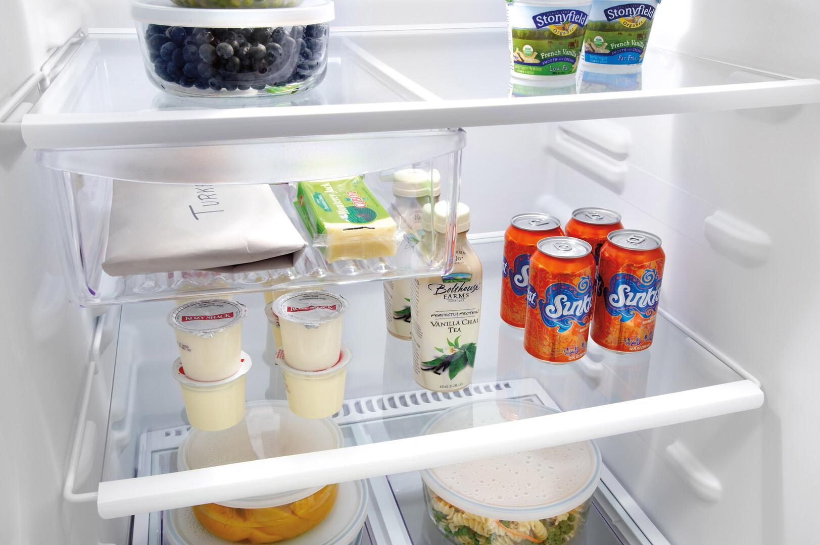 Frigidaire Ffht1817lw Refrigerator With 18 2 Cu Ft