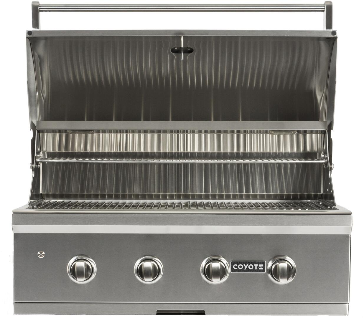Coyote ccx4ng 36 inch built in grill in stainless steel for Coyote outdoor grill reviews