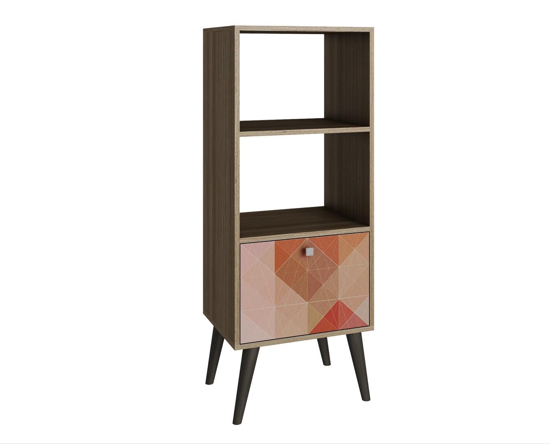 accentuations 2amc127 sami series wood 1 2 shelves 2 shelf bookcase cream uk 2 shelf bookcase