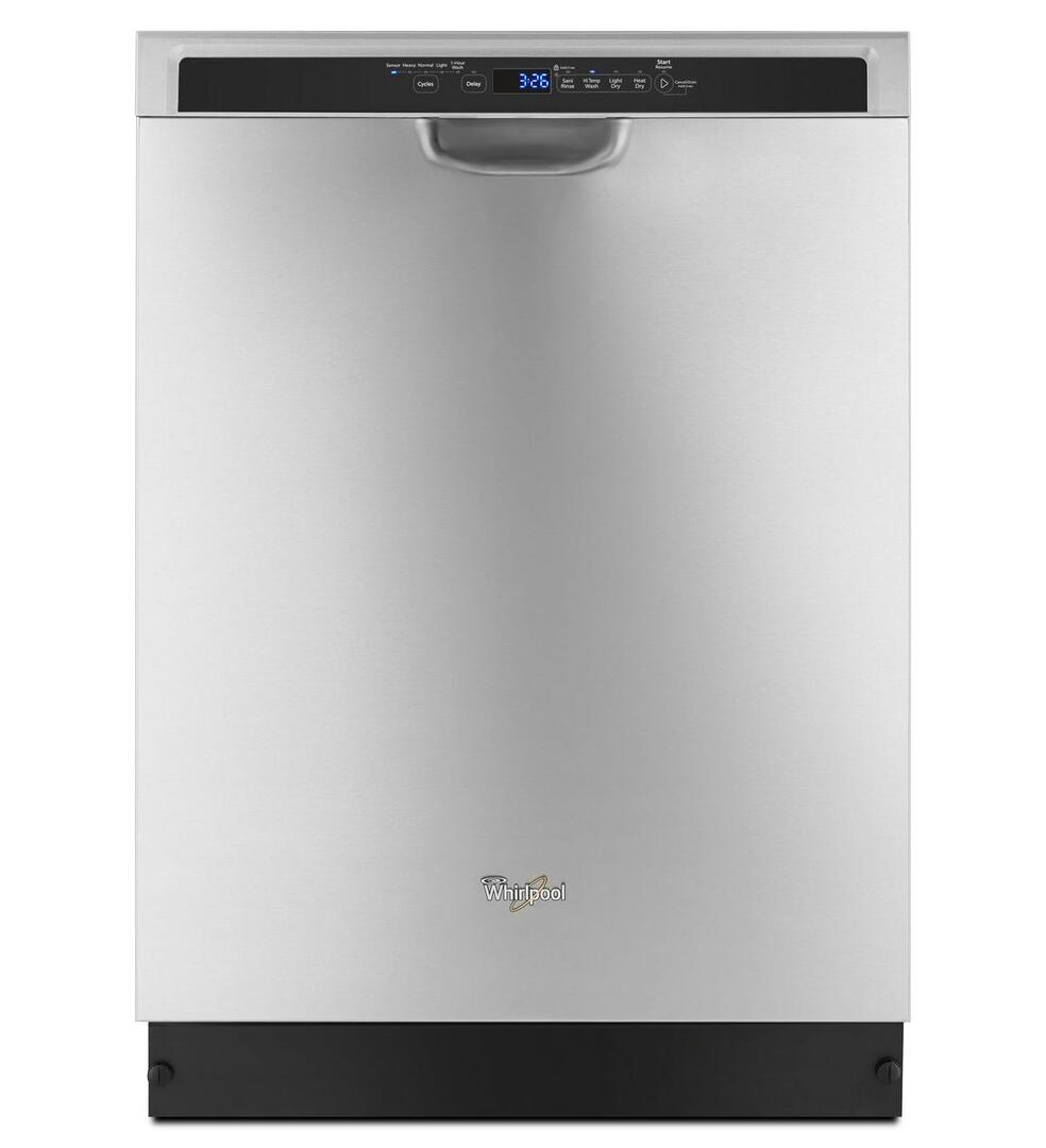 Whirlpool Wdf560safm 24 Inch Stainless Steel Built In Full