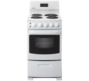 danby der2099w 20 inch electric freestanding appliances