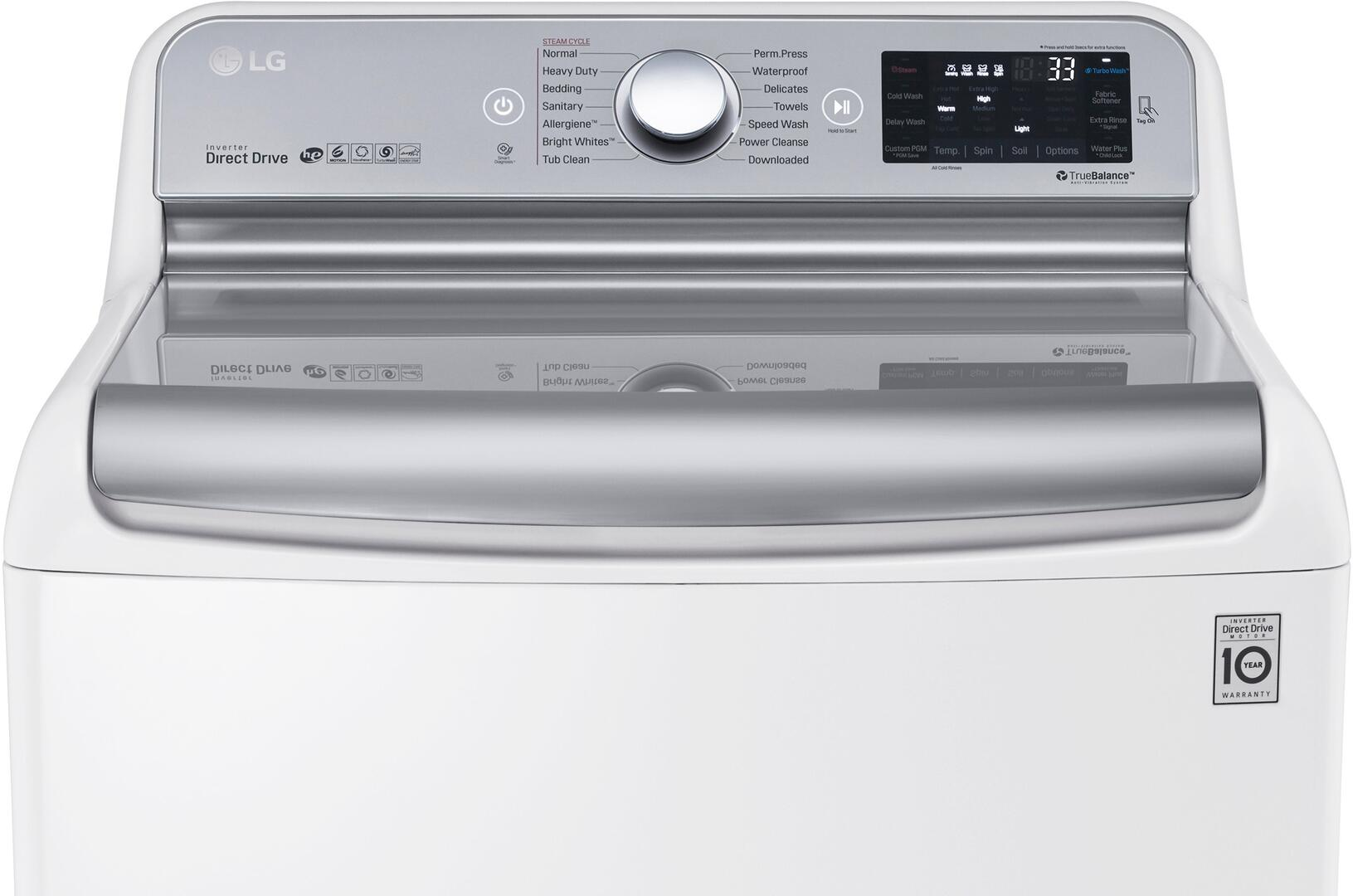 Lg Kitchen Appliance Packages Lg Wt7700hwa 29 Turbowash Series Top Load Washer Appliances