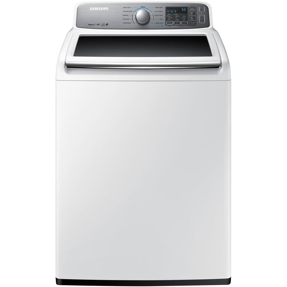 Samsung Appliance Wa48h7400aw 27 Inch 4 8 Cu Ft Top Load