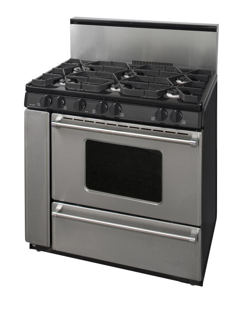 Premier p36b3282p 36 inch pro series gas freestanding for Best slide in gas range under 2000