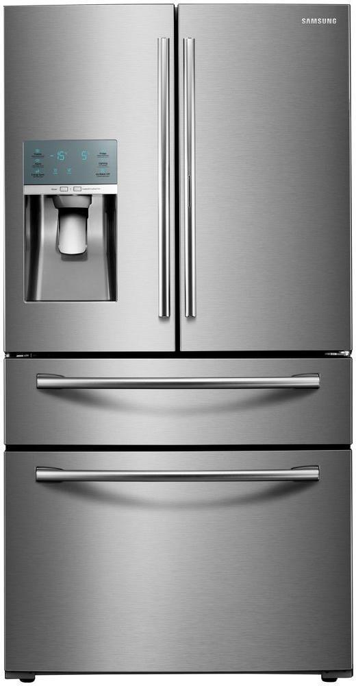 Side by side refrigerator 30 inch width - Samsung Rf22kredbsr Energy Star
