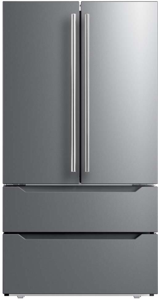 Midea MRQ23B4AST 36 Inch French Door Refrigerator