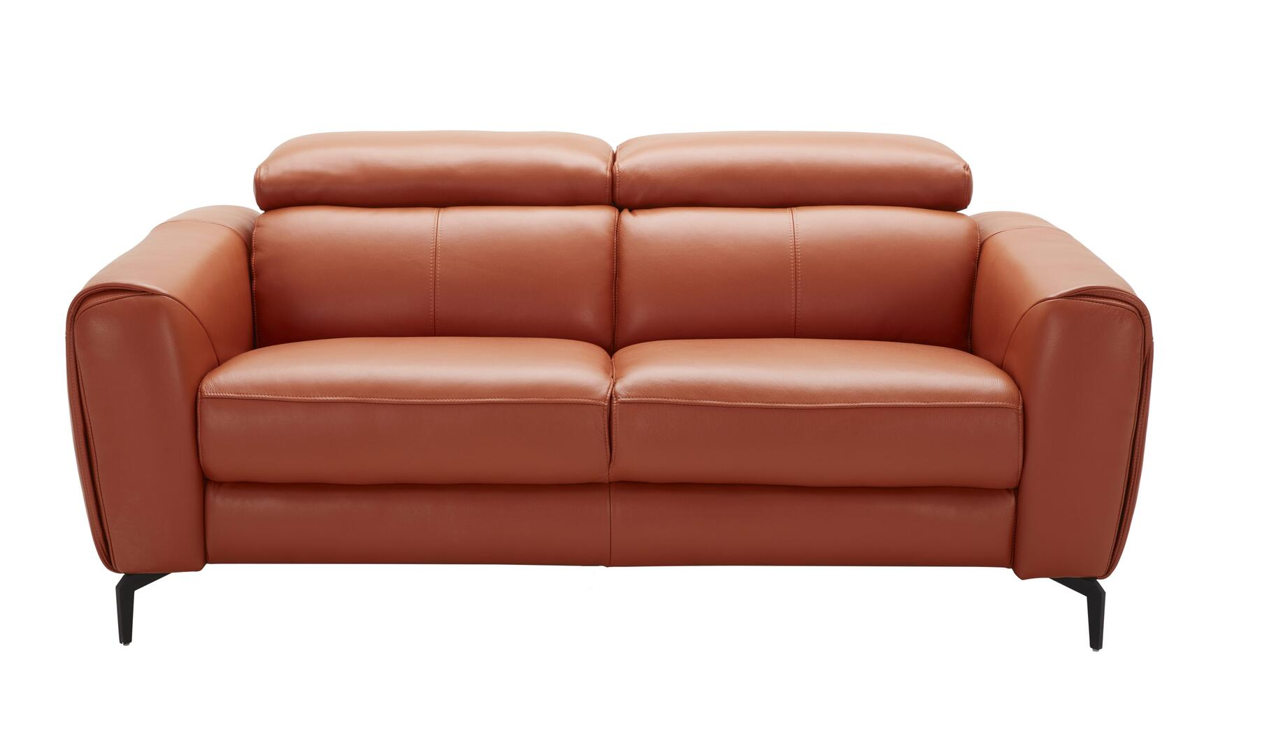 J And M Furniture 18742l Cooper Series Leather Stationary With Wood Frame Loveseat Appliances
