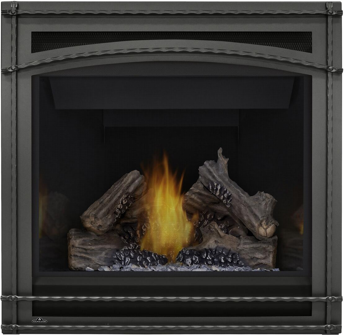 napoleon b36ntre ascent series direct vent natural gas fireplace