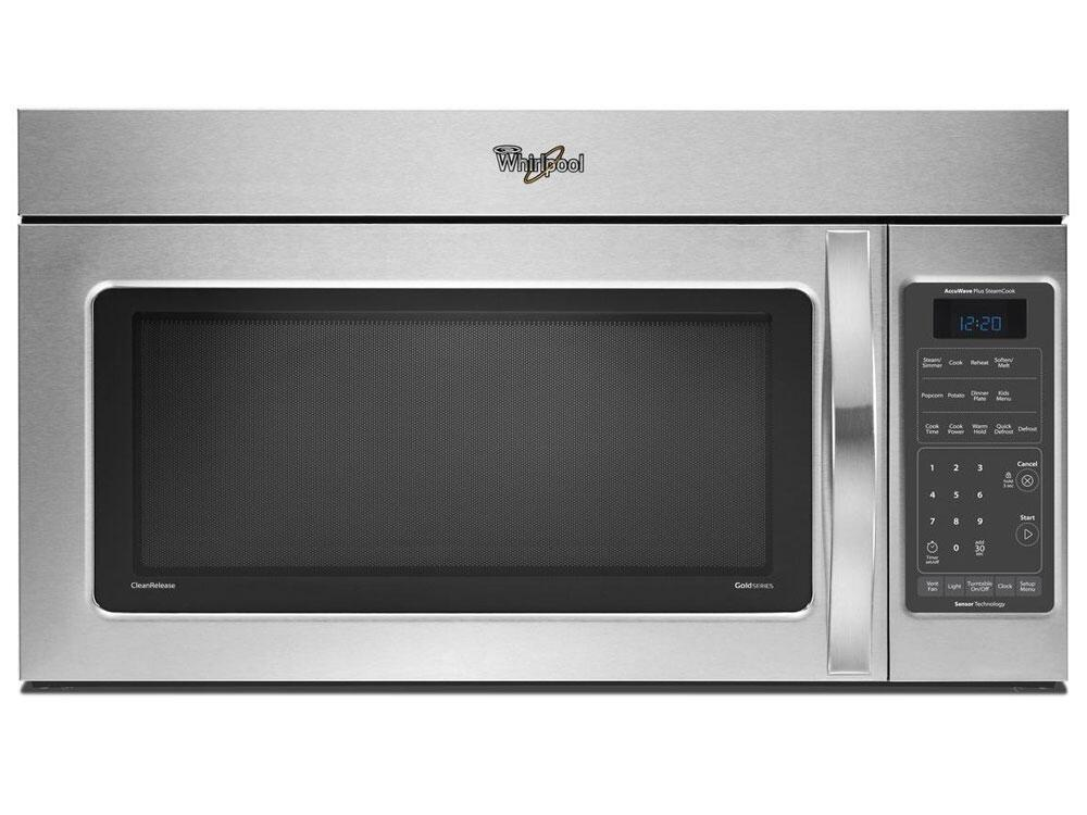 Whirlpool Wmh75520as 2 Cu Ft Over The Range Microwave